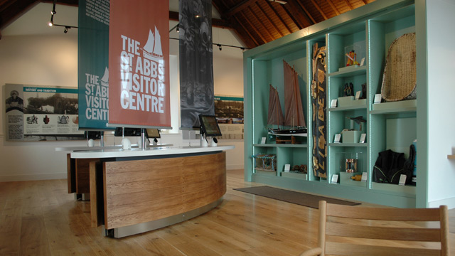 St Abbs Visitor Centre - Interpretation, touch screen multimedia and web access kiosk programmes